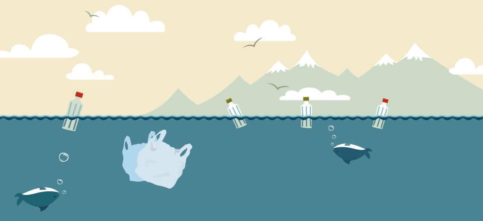 Plastik i havet løsning