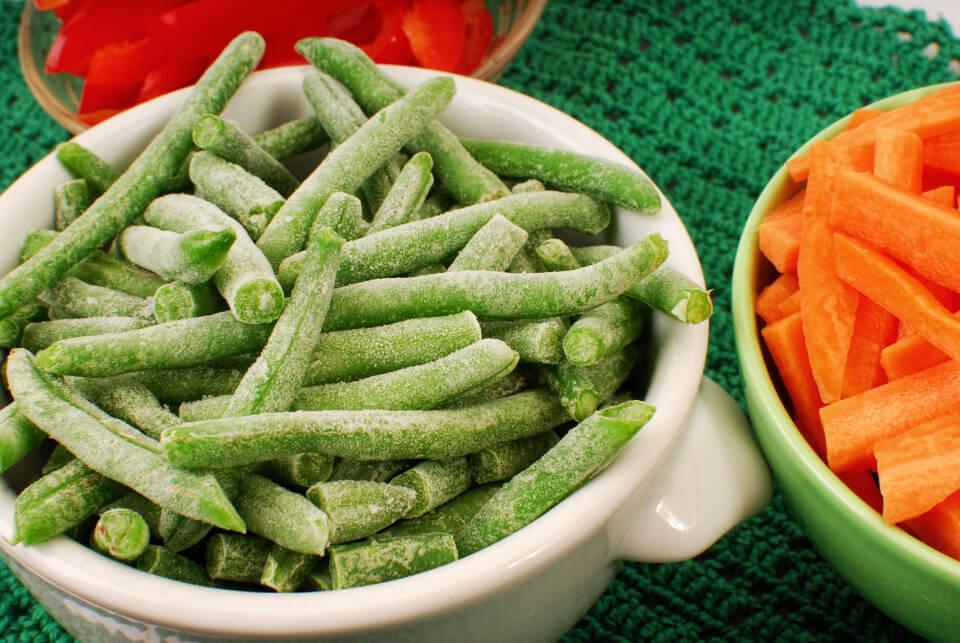 Frosne Grøntsager Naturli