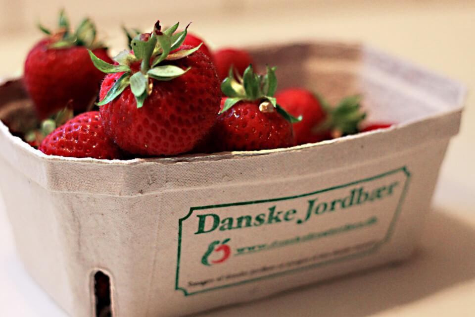 Økologiske jordbær Naturli
