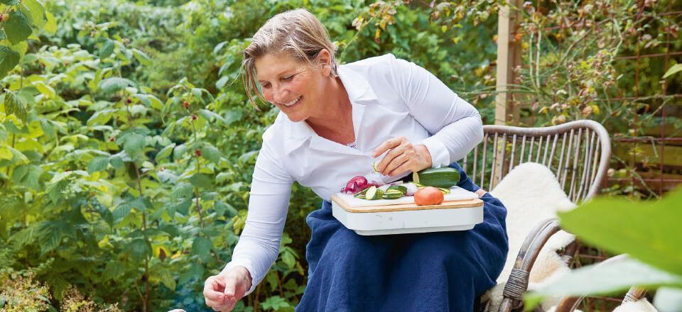 Det er vigtigt, at vi tager os tid til et måltid med dem, vi holder af. Anette Harbech har skrevet ny sundhedsbog.