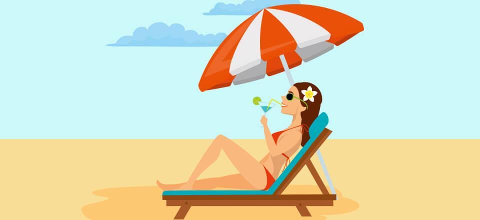 Med betacaroten kan du beskytte huden indefra mod nogle af solens stråler