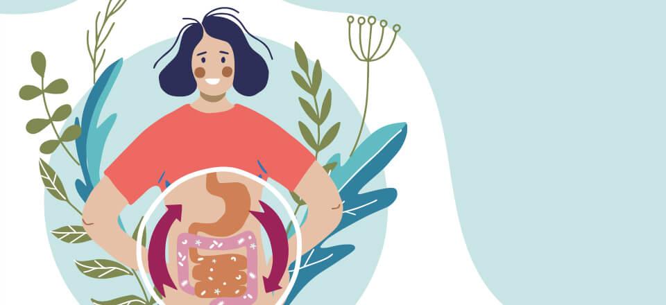 Din hjerne påvirkes af din mad, mave, tarme og livsstil