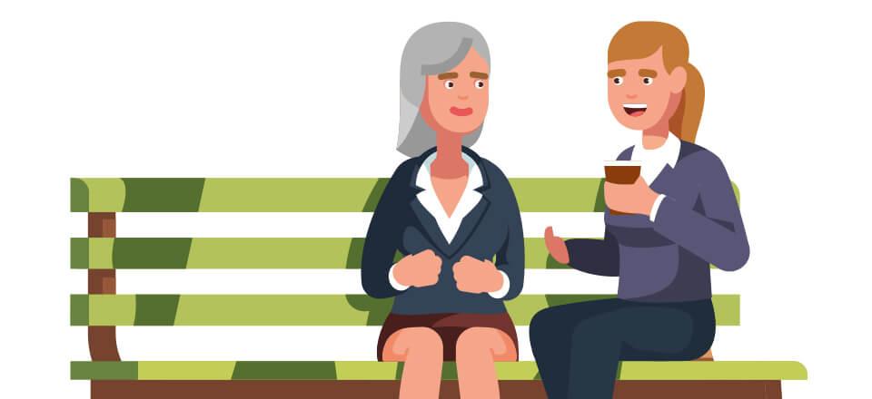 Det kan føles hårdt at besøge en pårørende med demens. Få gode råd til besøget.
