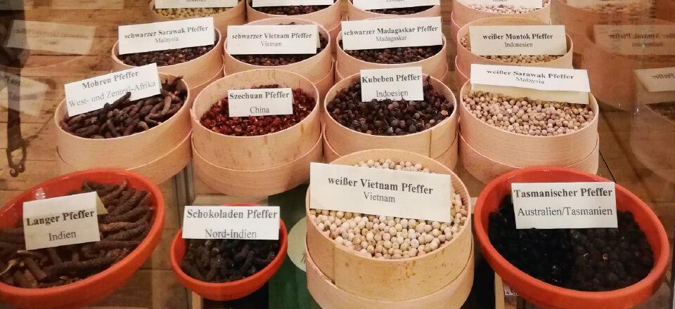 Krydderier er der nok af på Spicy's Museet i Hamburg