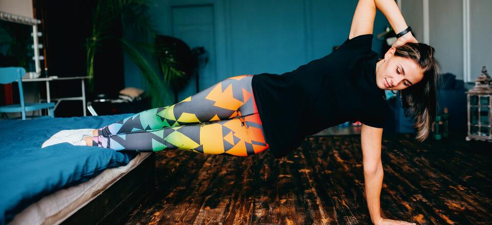 Få tips og idéer til motion på stuegulvet