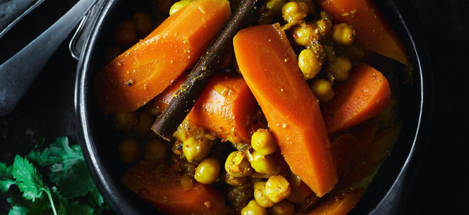 Marokkanske gulerødder