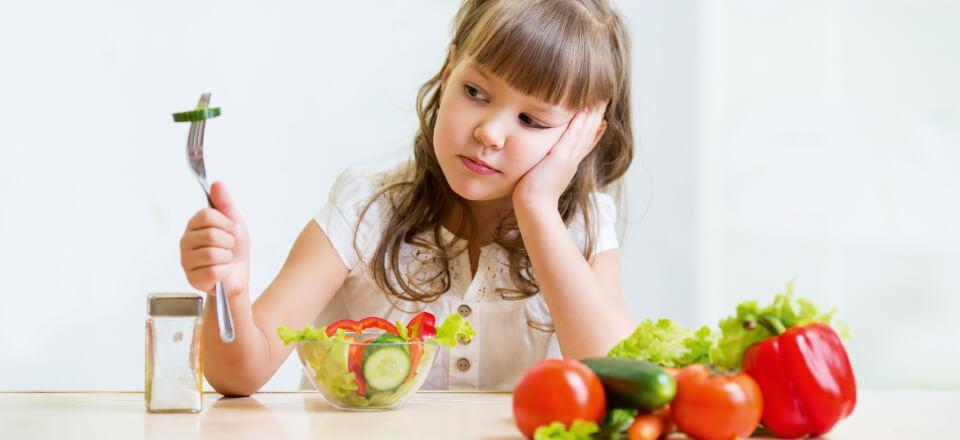 Hjælp til stressende måltider og madselektive børn